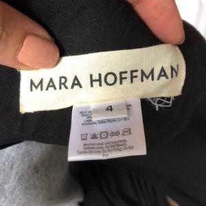 Mara Hoffman Pants - Mara Hoffman Criss cross black jumpsuit